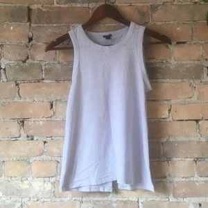 J Crew Muscle Tee with Split Back